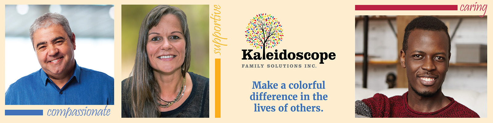 Kaleidoscope Family Solutions Inc - Direct Support Professional (DSP) banner image
